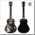 """Calcomanía 36"""" linden de madera contrachapada de guitarra acústica( afg36d- 3)"""