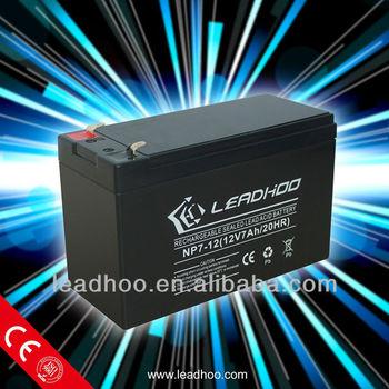 12v7ah battery popular in Pakistan