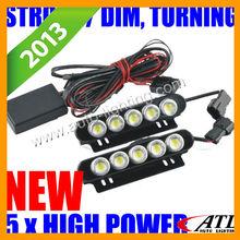 2013 new product strobe 12v mazda 6 led daytime running lights