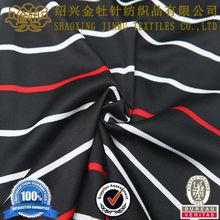 China 100 polyester basketball wear knit print fabric
