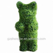 GuangZhou SJ lovely artificial topiary bear animals