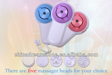 Mini type 5 In 1 beauty care Massager,Body,hair face cleaner machine