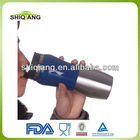 2014 Design Double Wall Structure BPA Free Food Grade Stainless Steel Canteen Bottle With Color With Plastic Cover