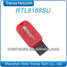 Upgrade RTL8188SU 150Mbps USB WiFi Dongle USB Flash Shape