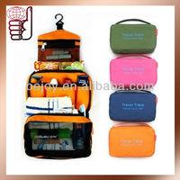New Arrival Ployester Hanging Toiletry bag Travel Trace Organizer Bag (OB0519)