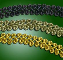 braid for handicrafted hemed carpet