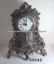Aluminum Antique Finish Desk Clock