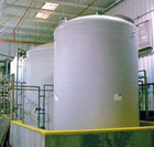 Fiberglass Vertical Tank
