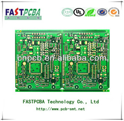 Multilayer blind and buried via main processor pcb