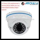 2.8-12mm Manual Zoom Lens IR CCTV Vandalproof Dome Video Kamera