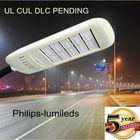 UL DLC LED street lights,led parking light 80w model design IP68 waterproof, 90-305V