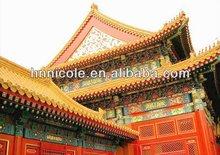 tegole smaltate cinese antico edificio