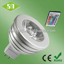 RGB gu10 e26 e27 MR16 rgb led mr16 downlight