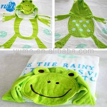 Children Beach Towel/Children Hooded Bath Towel/High Quality Animal Print Beach Towel