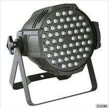 Four colors 3w*54pcs lamp bead LED par light China supplier 54pcs 3w 3in1 led par stage light
