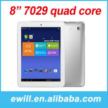 wholesale 8 inch metal tablet pc atm7029 quad core 1GB RAM 8GB ROM Android 4.1.3 1.5 GHz