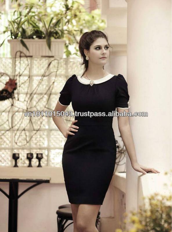 Черное Платье С Белыми Цветами С Доставкой