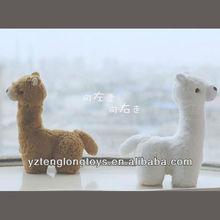 Factory Wholesale Plush Soft Toy Alpaca Stuffed Animals