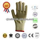 QL Hot sale Kevlar gloves cut resistant glove finger