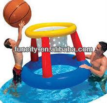 hot PVC tarpaulin inflatable basketball hoop selling