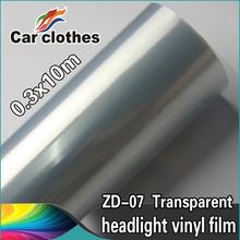 High Quality 0.3x10m Vinyl Wrap Roll Car Lamp Protective Film