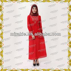 MF18045 New design islamic abaya fashion Baju kurung