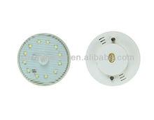 China led cabinet lighting 2w 6000k 120v plastic cover IR sensor cabinet led light