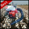 Hand cotton harvesting machine