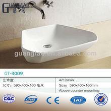 GT-3009 bathroom sanitary ware Artistic Wash Basin mini lavabo