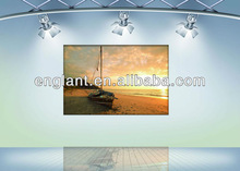 2013 Sunset print picture,giclee canvas