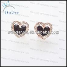 fashion earrings heart style for love