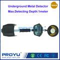 Llegó el nuevo Detector de metales subterráneo con un máximo de profundidad de detección 1 metro de la caza del tesoro de Metal etc PY-MD3010