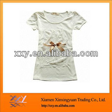 Organic Tshirts Slim Fitted Girls Fashion 2013 Tee
