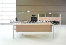Metal steel leg modern office executive desk