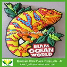 3D soft PVC fridge magnet wholesale