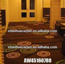 Bright Orange Carpet in Weihai