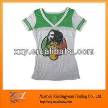 Cheap V-Neck Tshirts 1pcs Good Quality Fashion Cotton Tee
