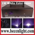 1000mw blanco color de animación de luz láser ilda baratos laser dj luces