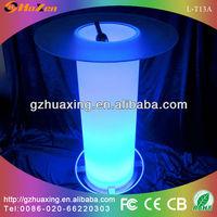 acrylic led bar table led bar side table L-T13A