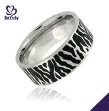 vintage stylish fashion jewelry stainless steel new model wedding ring