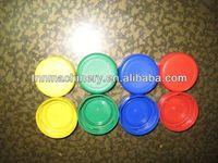 J-100% new material PE PP plastic soda bottle cap for sale