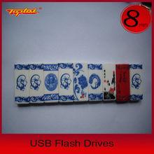 Promotional Chinese Style Ceramics Usb,Hi-speed Chinese Usb pen
