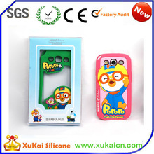 2015 Brand New 3D cartoon silicone cases for samsung galaxy s3