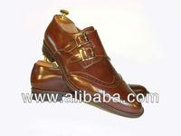 Figlio di Giorgio FG5004 double monk strap whisky color