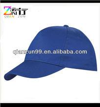 100% Cotton Royal Blue 6 Panel Baseball Cap Hat Headwear