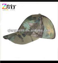Green Forest Camo 6 Panel Baseball Cap Hat Headwear