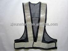 adjustable snap fastener fluorescent safety jacket