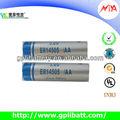3.6 V er14505 bateria de lítio para medidor de água / gás