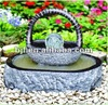 stone fountain outdoor water feature cradle decoration