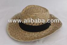 NATURAL STRAW HATS